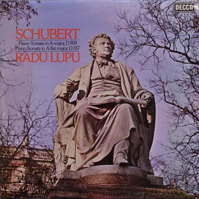 【オリジナル盤】ルプーのシューベルト/ピアノソナタ第20&5番   英DECCA   2538 LP レコード
