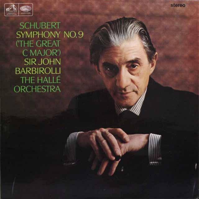バルビローリのシューベルト/交響曲第9番「グレート」  英EMI 3310 LP レコード