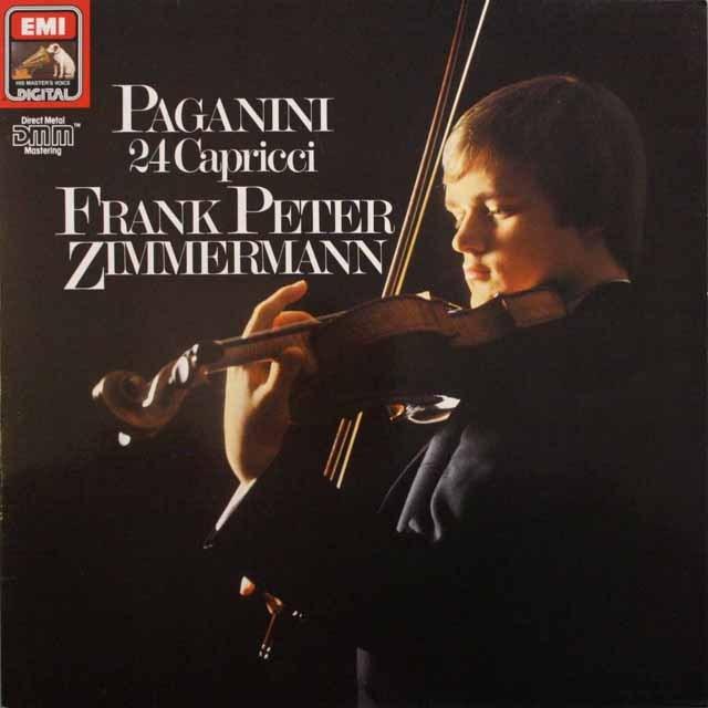 ツィンマーマンのパガニーニ/カプリス集  独EMI 3310 LP レコード