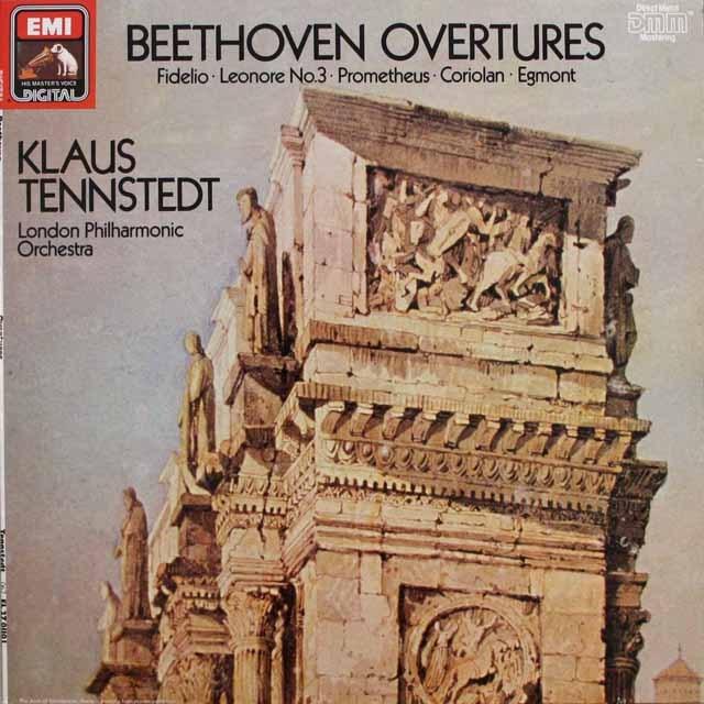 テンシュテットのベートーヴェン/序曲集   独EMI   2538 LP レコード