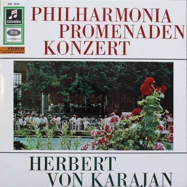 カラヤンの「プロムナード・コンサート」   独Columbia 3310 LP レコード