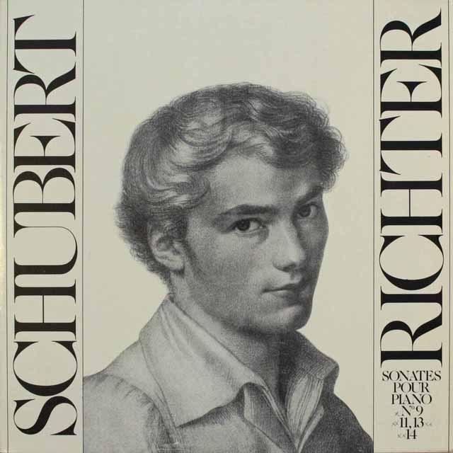 リヒテルのシューベルト/ピアノソナタ第9番ほか  仏HM 3310 LP レコード