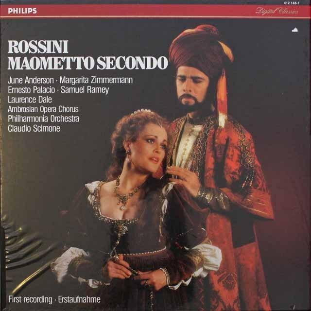 【未開封】 シモーネのロッシーニ/「マオメット2世」 蘭PHILIPS 3310 LP レコード