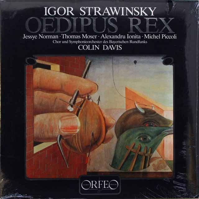 【未開封】 ノーマン&ディヴィスの「オディプス王」 独ORFEO 3310 LP レコード