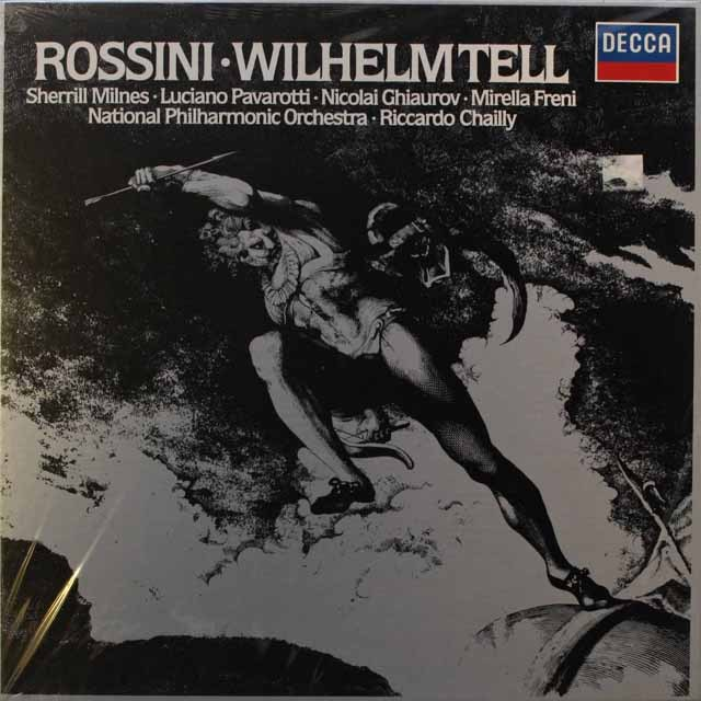 【未開封】シャイーのロッシーニ/「ウィリアム・テル」    独DECCA   2540 LP レコード