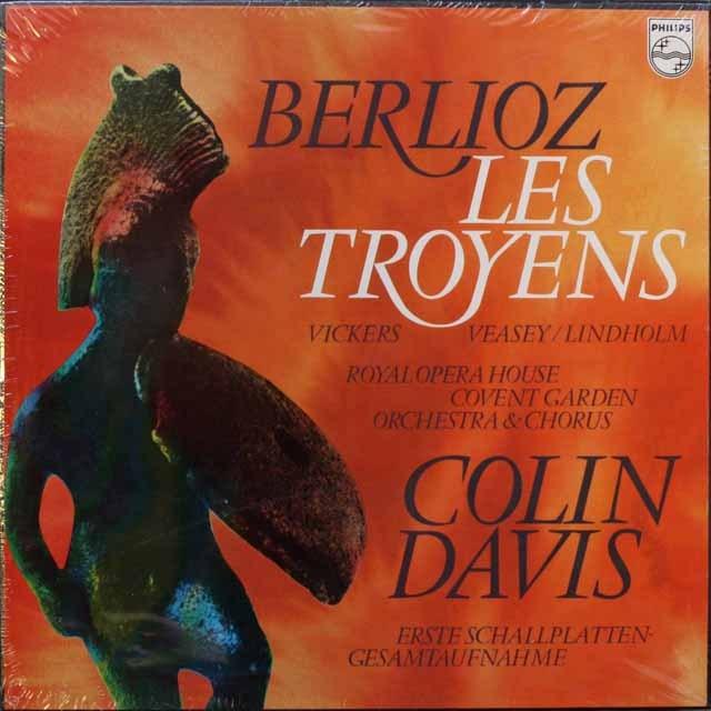【未開封】 デイヴィスのベルリオーズ/「トロイ人」  蘭PHILIPS 3311 LP レコード