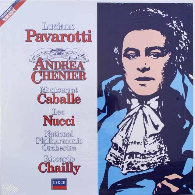 【未開封】パヴァロッティのジョルダーノ/ 「アンドレア・シェニエ」   仏DECCA    2541 LP レコード