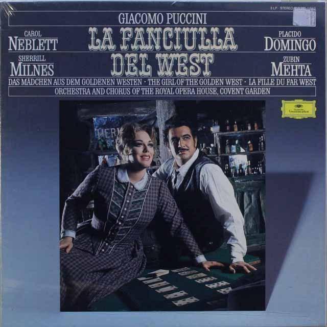 【未開封】 メータのプッチーニ/「西部の娘」 独DGG 3311 LP レコード