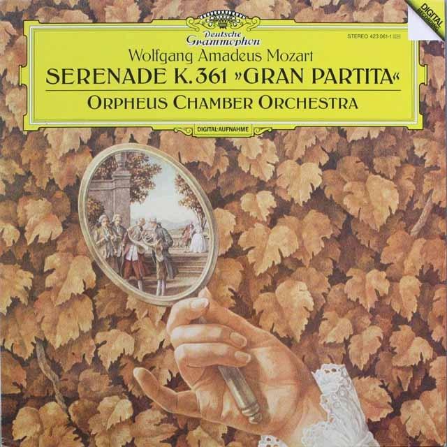 オルフェウス室内管弦楽団のモーツァルト/「13管楽器」 独DGG   2541 LP レコード