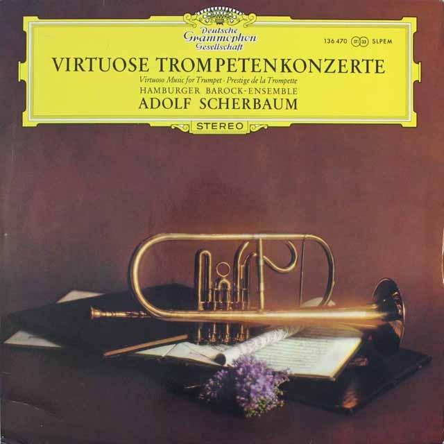 シェルバウムのトランペット協奏曲集 独DGG 3311 LP レコード