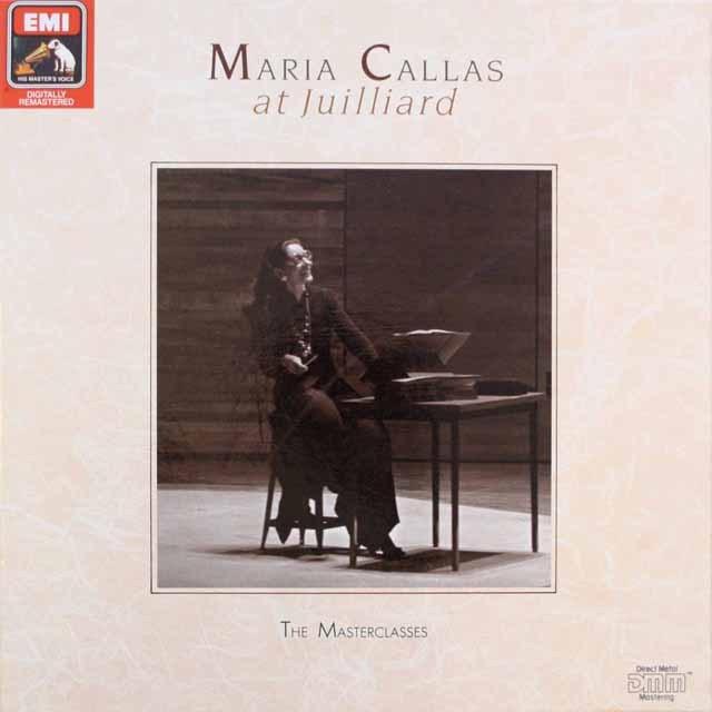 マリア・カラスのジュリアードでのレッスン 独EMI 3314 LP レコード