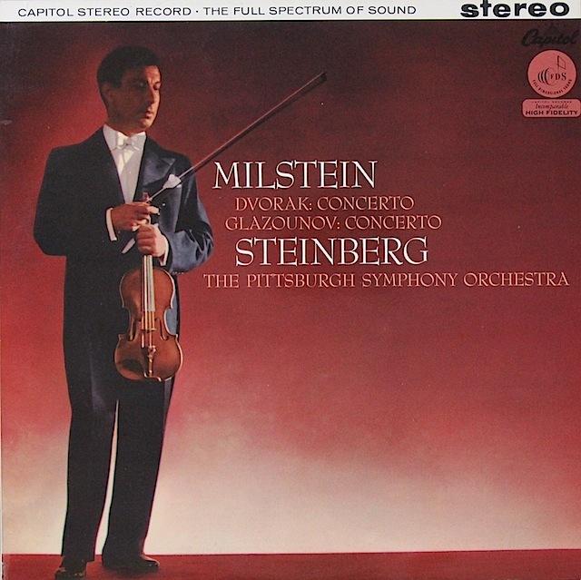 ミルシュタインのドヴォルザーク/ヴァイオリン協奏曲ほか 英Capitol オリジナル盤 2817 LP レコード
