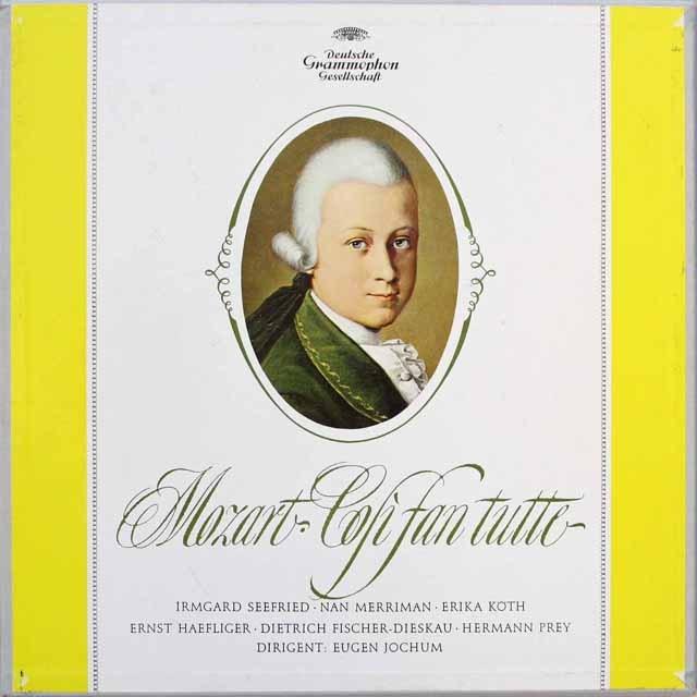 【独最初期盤】 ヨッフムのモーツァルト/「コジ・ファン・トゥッテ」全曲 独DGG 3312 LP レコード