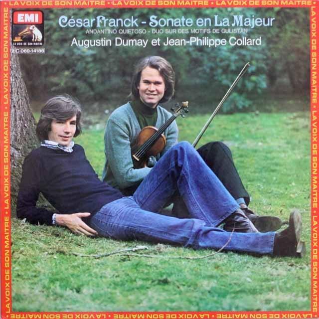 デュメイ&コラールのフランク/ヴァイオリンソナタほか 仏EMI(VSM) 3316 LP レコード