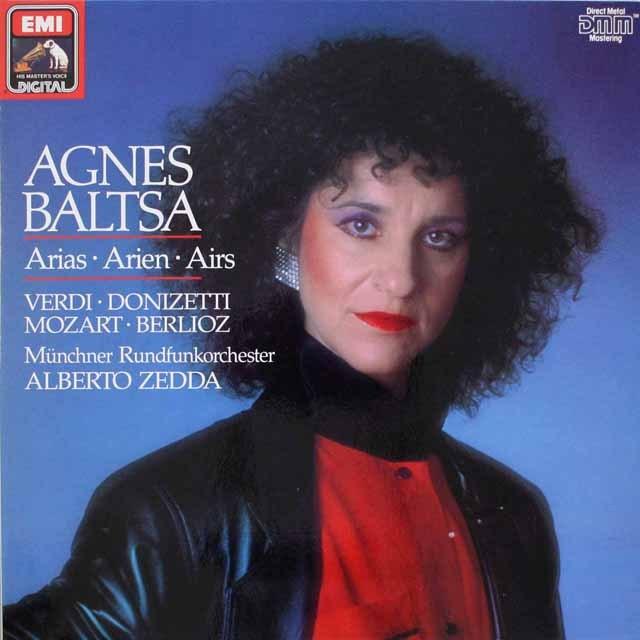 バルツァの「オペラアリア集」 独EMI 3316 LP レコード