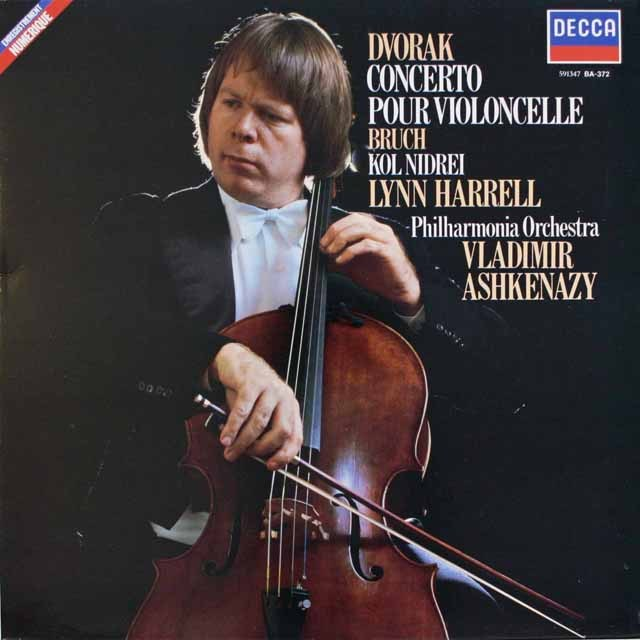 ハレルのドヴォルザーク/チェロ協奏曲 仏DECCA 3314 LP レコード