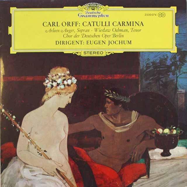 ヨッフムのオルフ/「カトゥーリ・カルミナ」 独DGG 3314 LP レコード