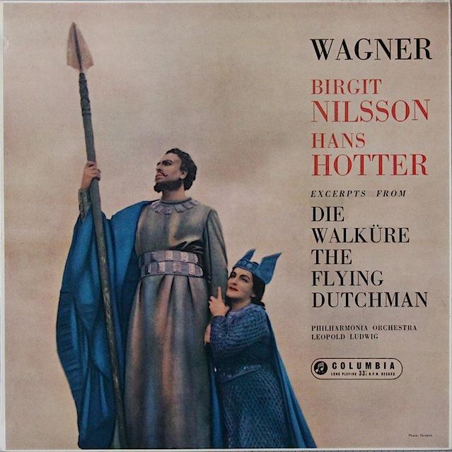 ニルソン&ホッターのワーグナー/「ワルキューレ」&「さまよ二えるオランダ人」からの重唱集 英Columbia 3297 LP レコード