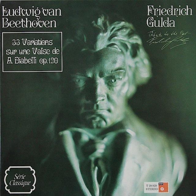 グルダのベートーヴェン/ディアベリ変奏曲 仏BASF 3297 LP レコード