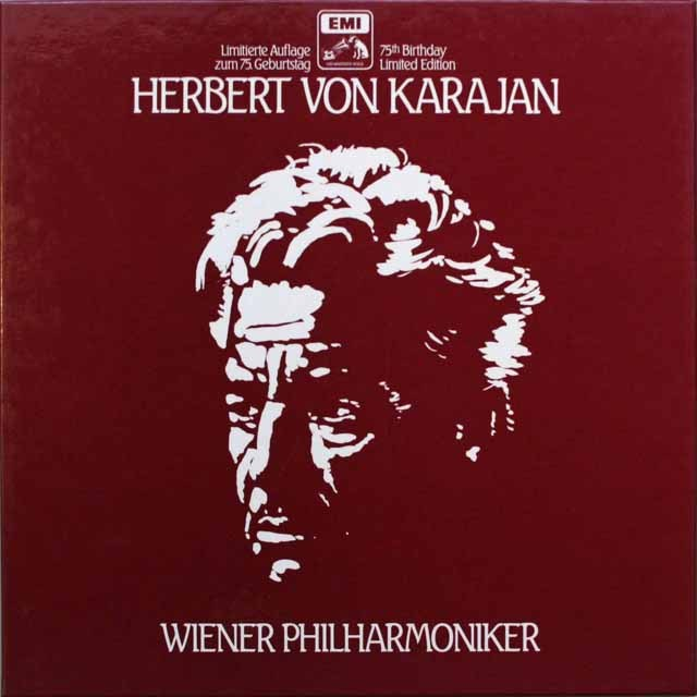 カラヤンとウィーンフィルの芸術 独EMI 3313 LP レコード