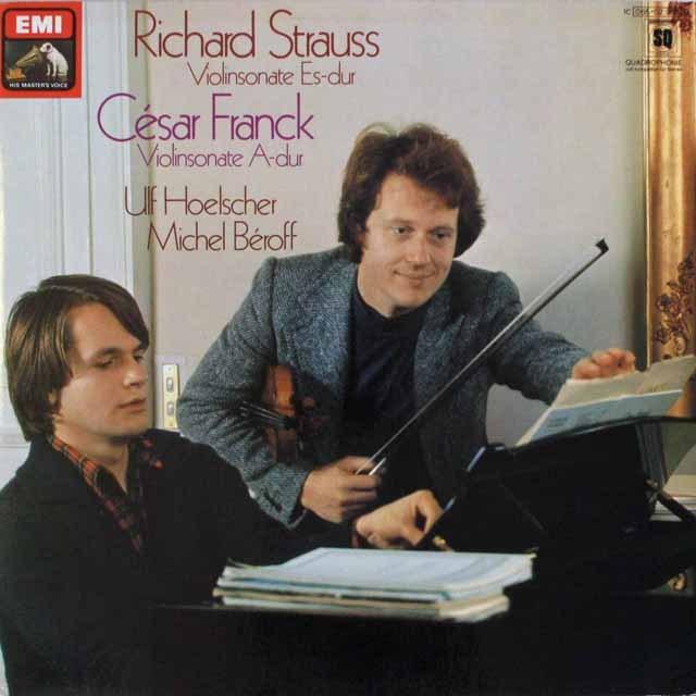 ヘルシャー&ベロフのフランク/ヴァイオリンソナタほか  独EMI   2544 LP レコード