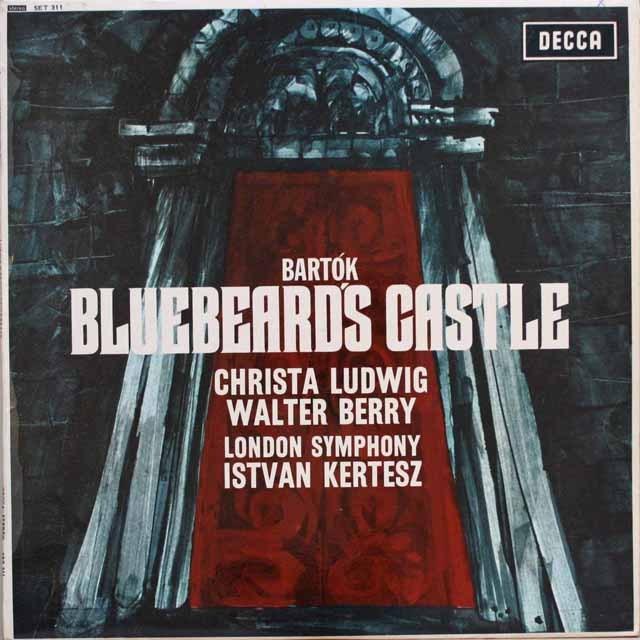 【オリジナル盤】 ケルテスのバルトーク/「青ひげ公の城」 英DECCA 3313 LP レコード