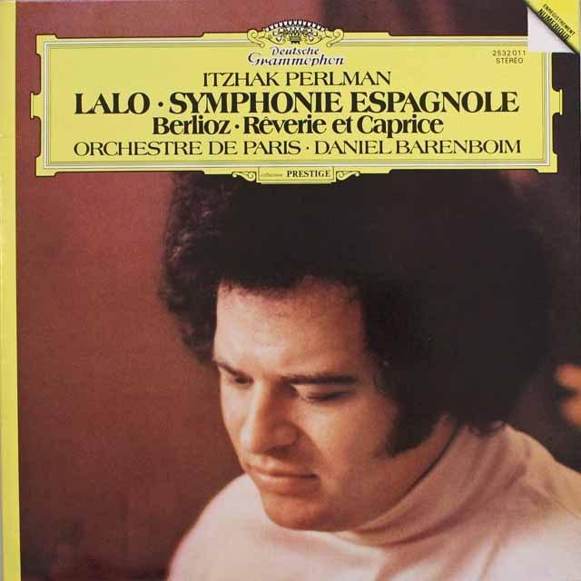 パールマン&バレンボイムのラロ/スペイン交響曲ほか 独DGG 3313 LP レコード