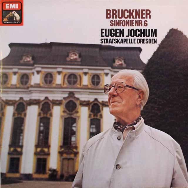 ヨッフムのブルックナー/交響曲第6番 独EMI 3316 LP レコード