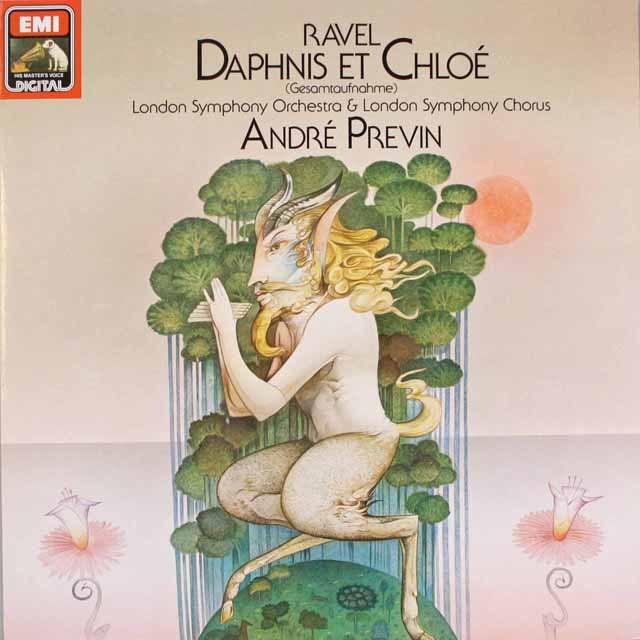 プレヴィンのラヴェル/「ダフニスとクロエ」 独EMI 3316 LP レコード