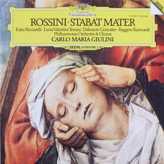ジュリーニのロッシーニ/「スターバト・マーテル」 独DGG 3315 LP レコード