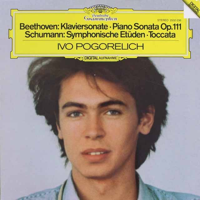 ポゴレリチのベートーヴェン/ピアノソナタ第32番ほか    独DGG   2547 LP レコード