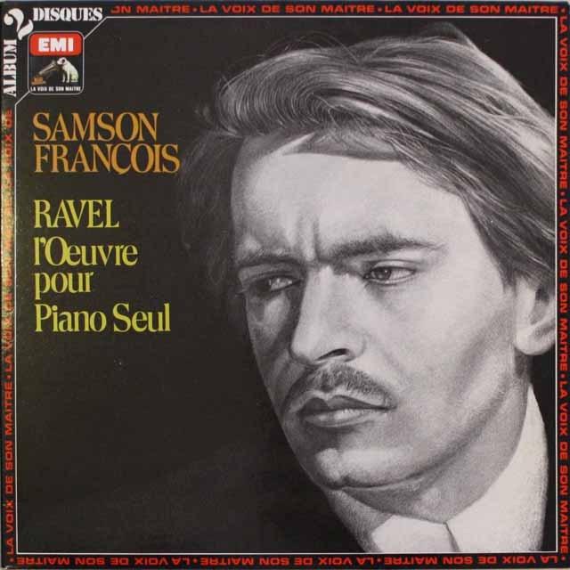 フランソワのラヴェル/ピアノ作品集   仏EMI(VSM)   2547 LP レコード