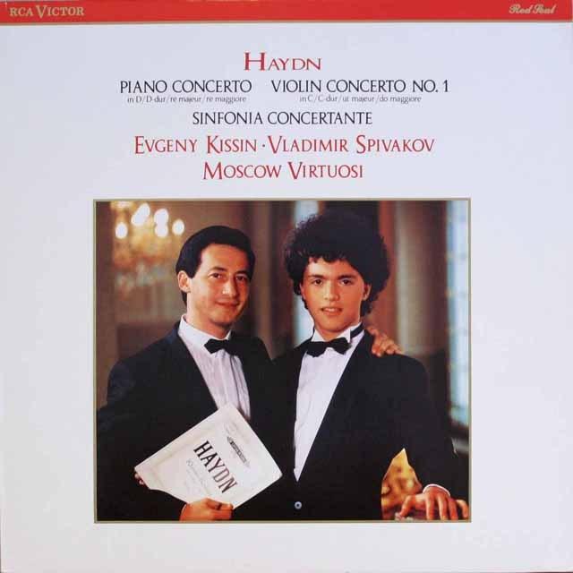 キーシンのハイドン/ピアノ協奏曲第11番ほか  独RCA   2550 LP レコード