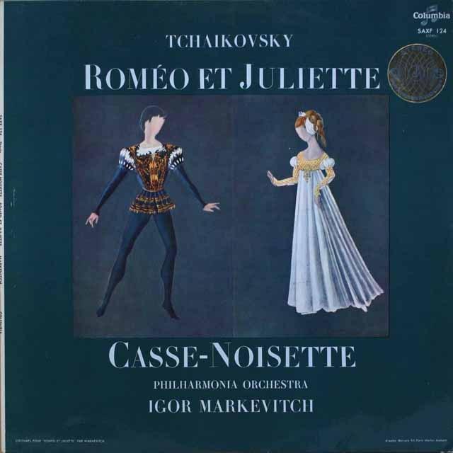 マルケヴィチのチャイコフスキー/「ロミオとジュリエット」   仏columbia   2551 LP レコード
