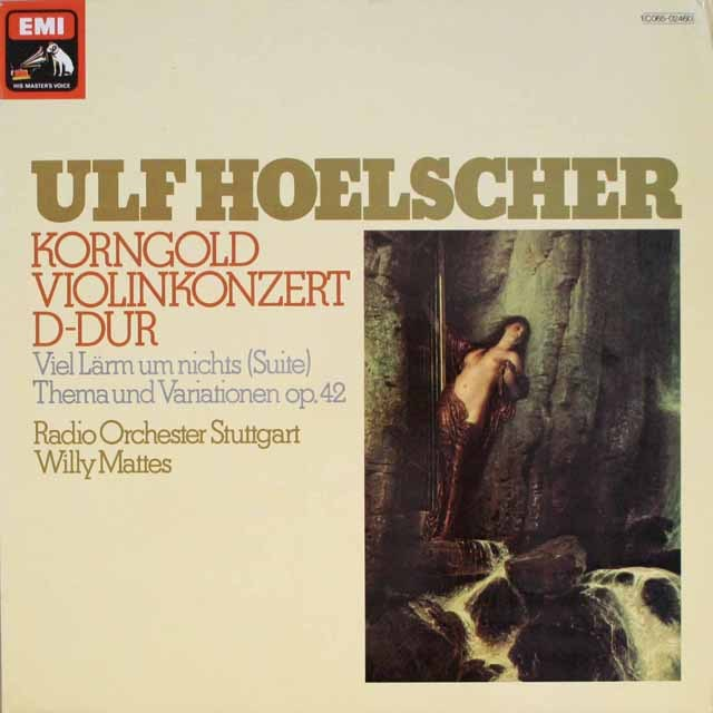 ヘルシャーのコルンゴルト/ヴァイオリン協奏曲ほか  独EMI   2551 LP レコード