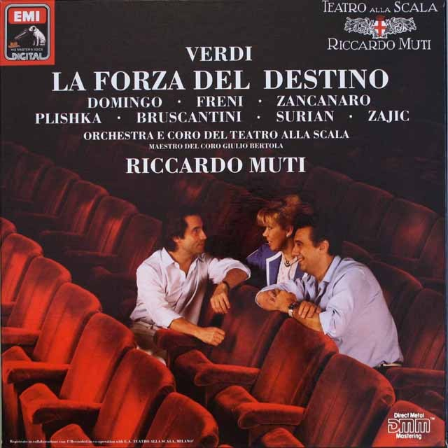 ムーティのヴェルディ/「運命の力」 独EMI 3319 LP レコード