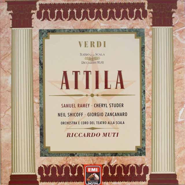 ムーティのヴェルディ/「アッティラ」 独EMI 3319 LP レコード
