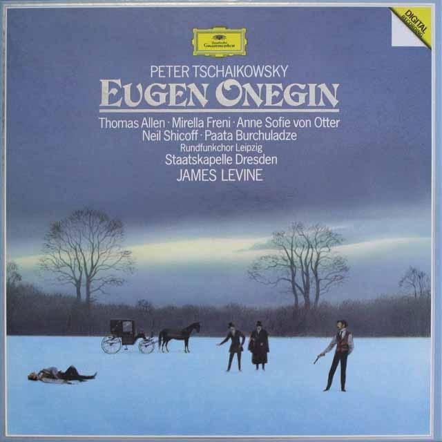 レヴァインのチャイコフスキー/「エフゲニ・オネーギン」  独DGG  2607 LP レコード