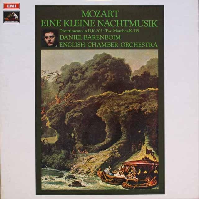 バレンボイムのモーツァルト/「アイネ・クライネ・ナハトムジーク」 英EMI 3320 LP レコード