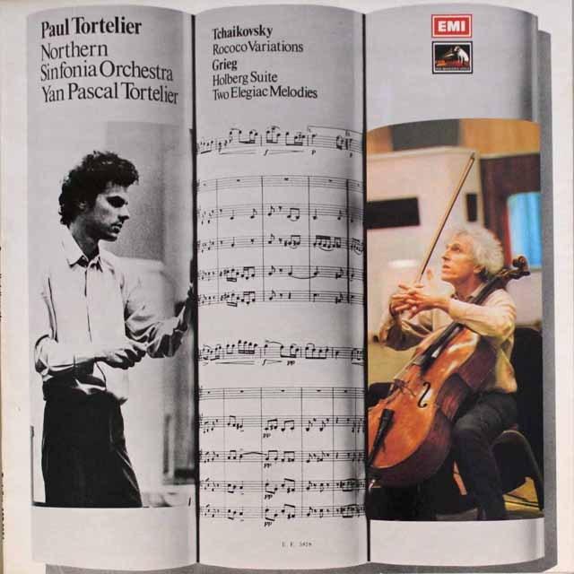 トルトゥリエのチャイコフスキー/ ロココの主題による変奏曲  英EMI  2601 LP レコード