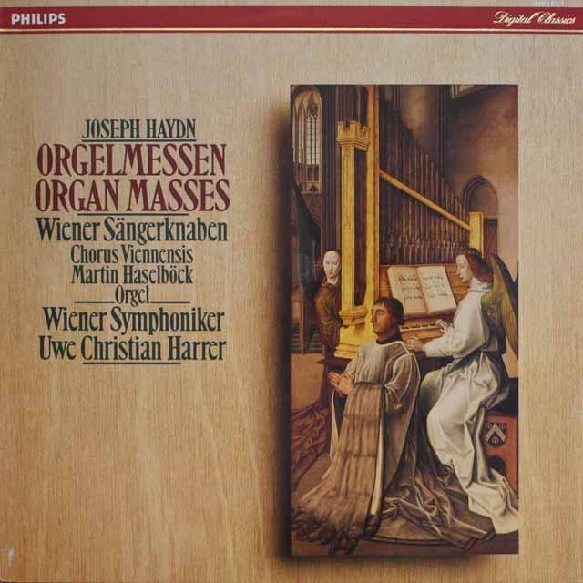 ハラーのハイドン/オルガンミサ 蘭PHILIPS 3327 LP レコード