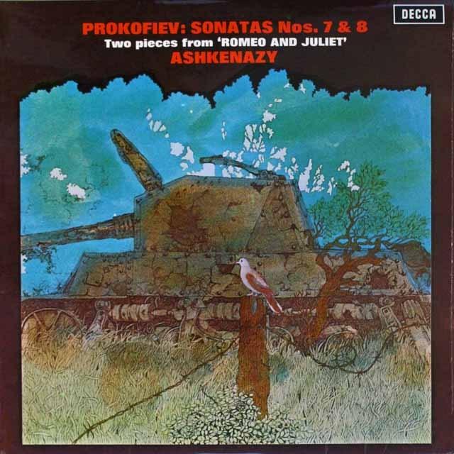 アシュケナージのプロコフィエフ/ピアノソナタ第7、8番 英DECCA  3327 LP レコード