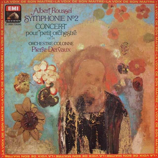 デルボーのルーセル/交響曲第2番 仏EMI(VSM) 3327 LP レコード