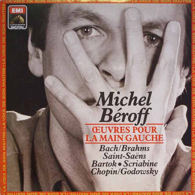 ベロフ/左手のためのピアノ作品集 仏EMI(VSM) 3327 LP レコード