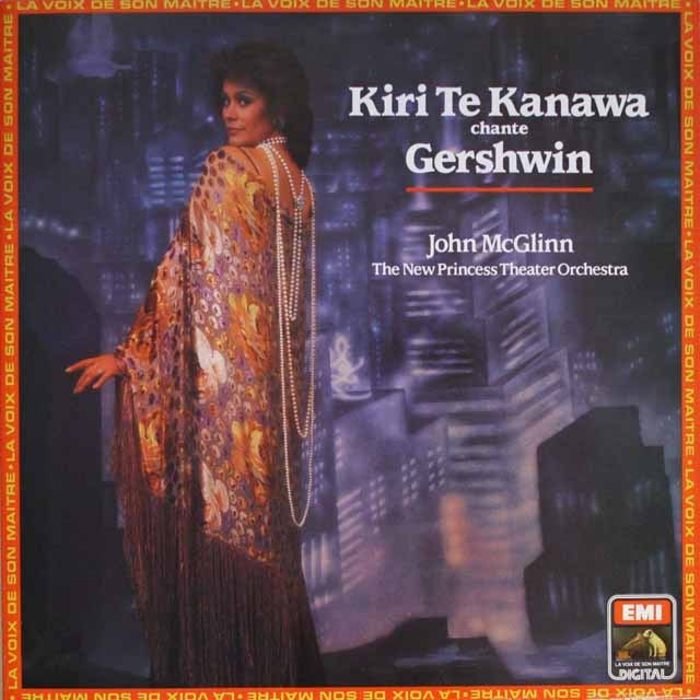 テ・カナワ/ガーシュインを歌う  仏EMI(VSM)   2608 LP レコード