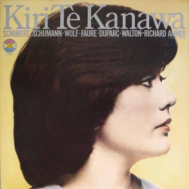キリ・テ・カナワ/リサイタル  独CBS 2608 LP レコード