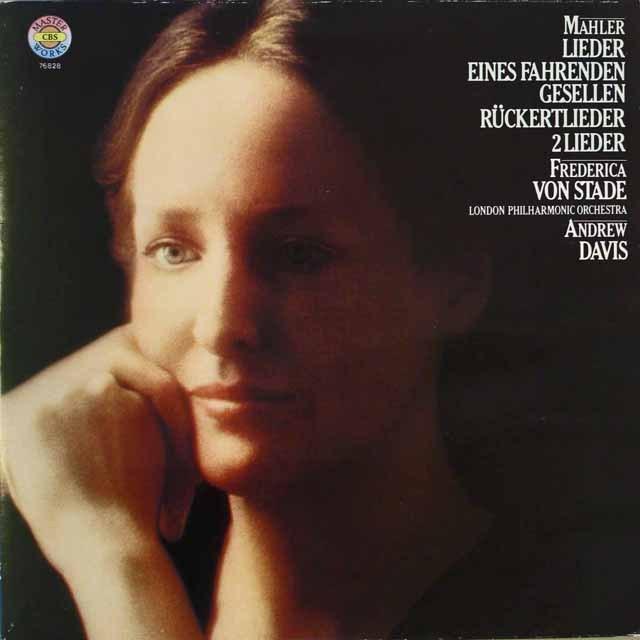 シュターデのマーラー/「さすらう若人の歌」ほか 独CBS 3327 LP レコード