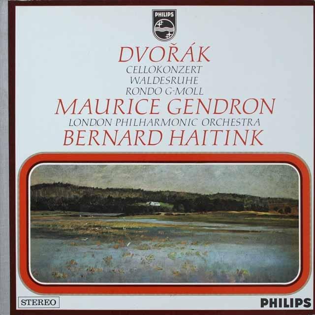 ジャンドロン、ハイティンクのドヴォルザーク/チェロ協奏曲ほか  蘭PHILIPS  3333 LP レコード