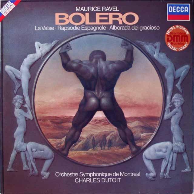 デュトワのラヴェル/「ボレロ」ほか  独DECCA  2618 LP レコード