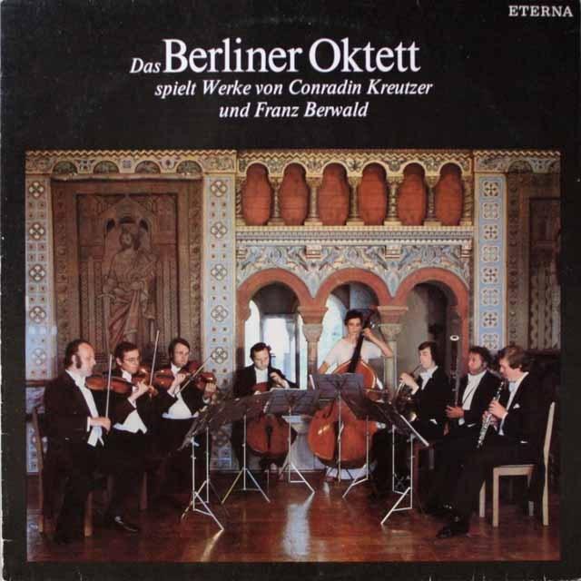 ベルリン・フィル・オクテットのクロイツァー/七重奏曲ほか  独ETERNA   3331 LP レコード